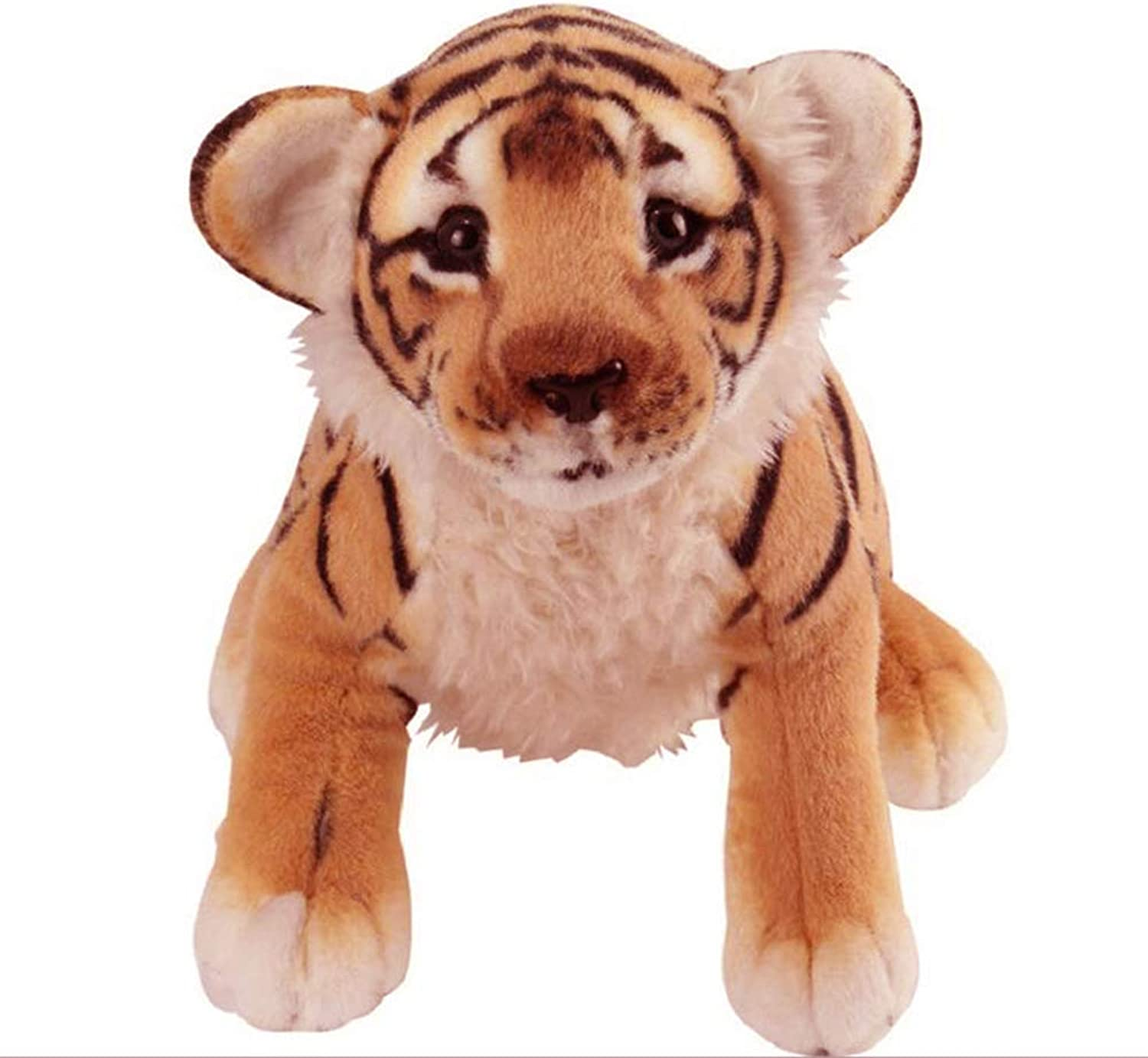 Liuliangmei Tiger Soft Toy The Jungle Animals Realistic Stuffed Plush Toys 48  38 CM