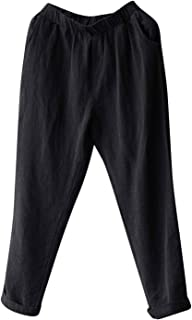 Best black cotton pants Reviews