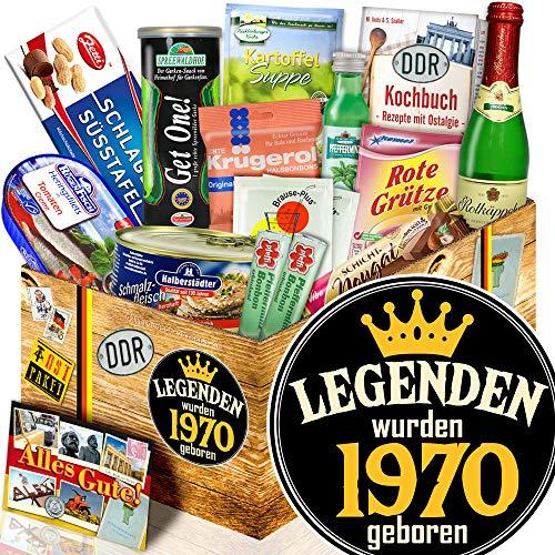 Legenden 1970 / Geburtstag 50 / Spezialitäten Box Ostpaket