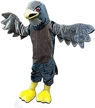 Hawk Falcon Eagle Mascot Costume Adult Halloween Costume Grey