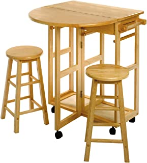 Best breakfast cart with stools Reviews