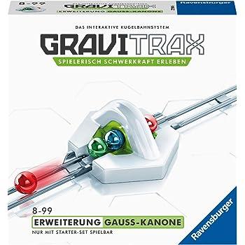 Ravensburger GraviTrax Erweiterung Gauß-Kanone - Ideales Zubehör für spektakuläre Kugelbahnen, Konstruktionsspielzeug für Kinder ab 8 Jahren