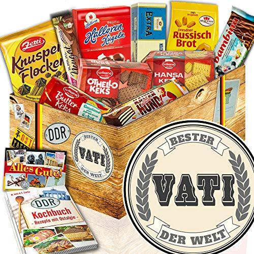 Geschenke aus Keksen / DDR Box / Bester Vati der Welt / Geschenke für Vater
