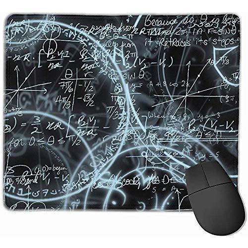Mauspads Mathe Mauspad Genähte Kante rutschfeste Basis Mousepad Laptop-Computer PC