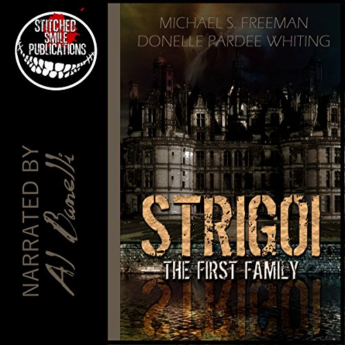 Strigoi audiobook cover art