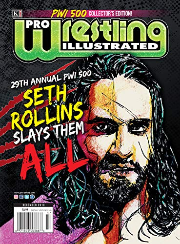 Pro Wrestling Illustrated: December 2019-PWI 500 Collector's Edition (29th Annual); Seth Rollins, AJ Styles, Daniel Bryan, Kenny Omega, Kofi Kingston, Kaz Okada, Official Ratings,