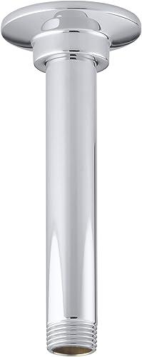 new arrival KOHLER K-7394-CP 6-Inch online sale Ceiling Mount popular Showerarm, Polished Chrome outlet online sale