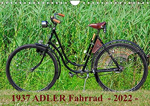 1937 ADLER Fahrrad (Wandkalender 2022 DIN A4 quer)
