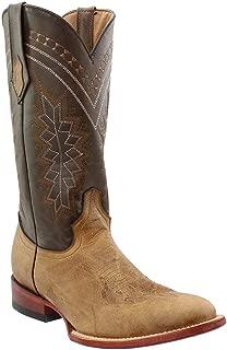 Men's Light Kangaroo Cowboy Boot Round Toe - 10853-15