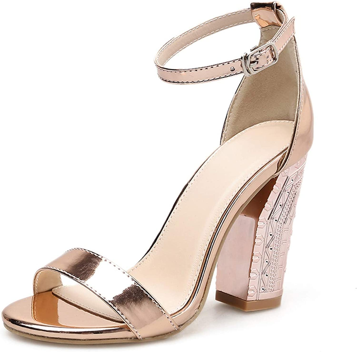 Elegant Sandals Summer 10.5cm High Heels Sandals Sexy Lady Party shoes