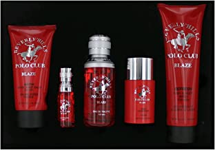 Beverly Hills Polo Club Blaze by Beverly Hills Polo Club, 5 Piece Gift Set for Men