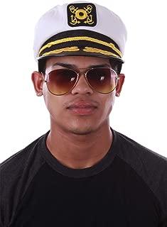 Enimay Yacht Boat Captain Hat Navy Marines Admiral Cap Hat