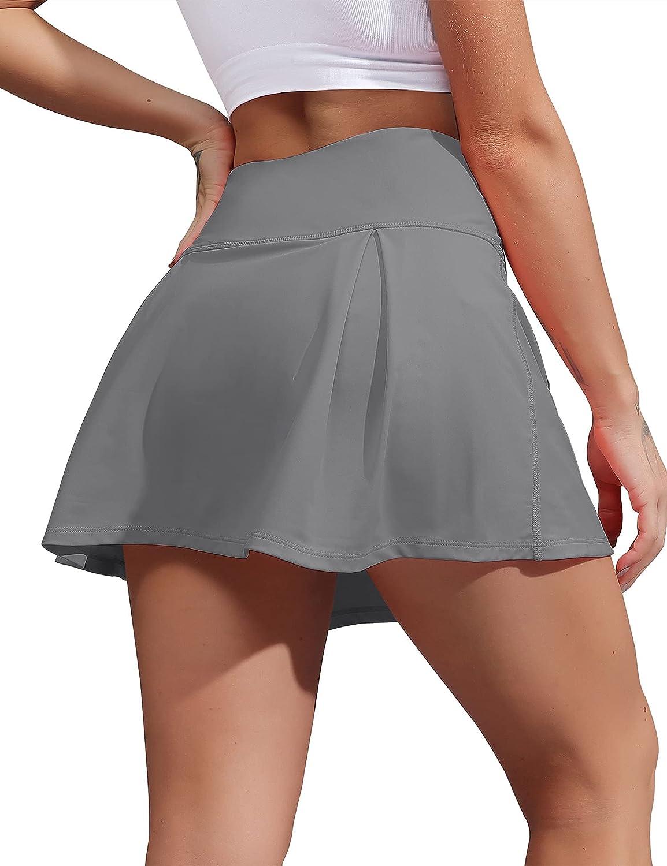 ZHENWEI Women's Tennis 2021new shipping free Skirt with Sport Athletic Tucson Mall Golf Shorts Run