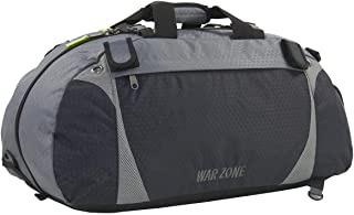 amaro Warzone Heavy Duty Convertible Duffle Lacrosse Bag with Backpack Straps – Perfect for Multi-Sports Athletes  Dual St...