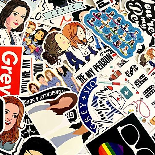 America Movie Stickers Intern PVC Suitcase Personalidad Vsco Stickers Bullet Journal Waterproof Stickers50 Pcs