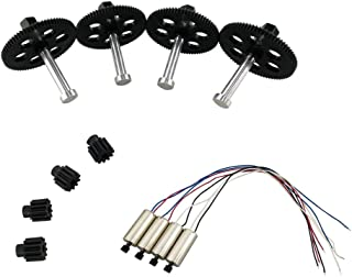 sea jump accessories for VISUO XS809W XS809HW XS809 XS809S fold quadrocopter spare parts Spindle gear motor gear motor drone fragile pieces