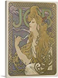 ARTCANVAS Job 1896 Canvas Art Print by Alphonse Mucha - 40