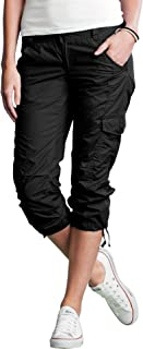Women's Plus Size Cargo Capris