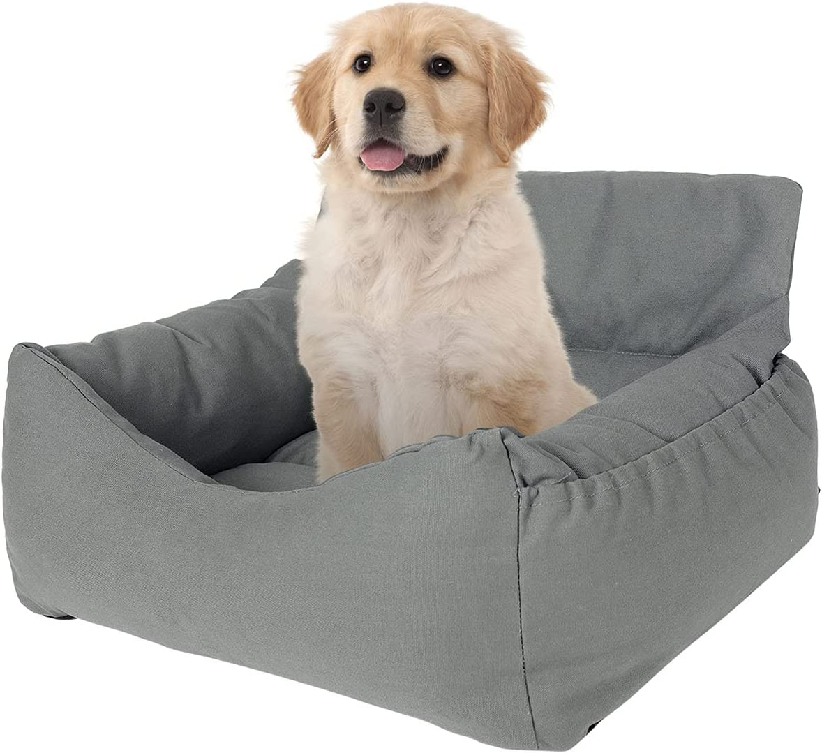 NIBESSER Dog Washington Mall Car Seat for Booster 2-in-1 Bed Genuine