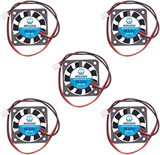 WINSINN 40mm Fan 24V Hydraulic Bearing Brushless 4010 40x10mm for Cooling Creality Ender 3 / Pro - High Speed (Pack of 5Pcs)