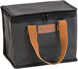 Washable Kraft Paper Insulated Lunch Box in Coal by KOLLAB