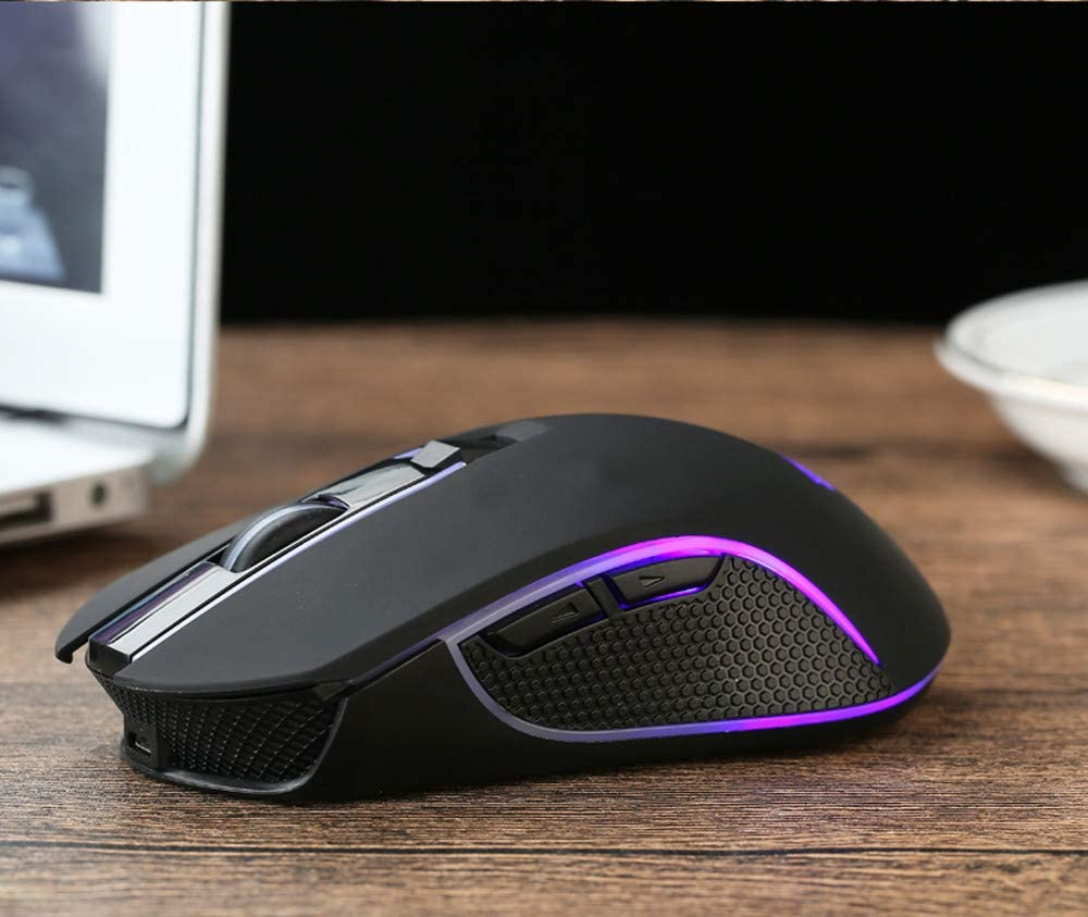 Rechargeable X9 Wireless Silent LED Backlit USB Optical Ergonomic Gaming Mouse
