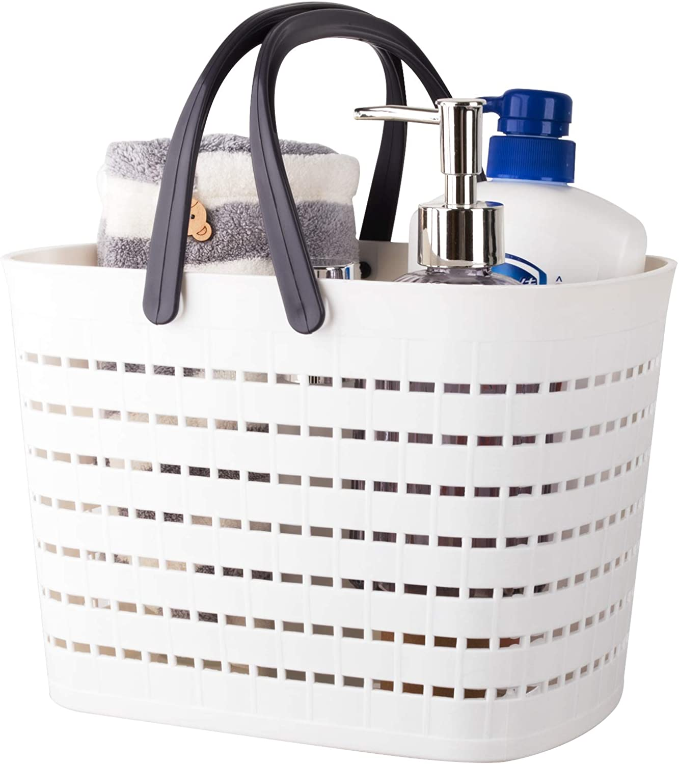 Ranking Tucson Mall TOP5 JiatuA Plastic Storage Basket with Handle for Caddy Tote Shower