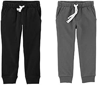 Toddler Boys 2 Pack French Terry Active Joggers/Pants