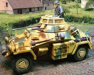 Collectors Showcase WW2 German CS00573 SD.KFZ. 222 Armored Car Normandy Version 1:30 Scale Mixed Media