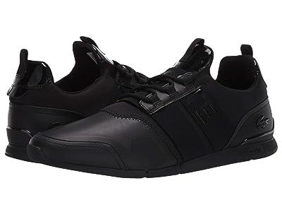 Lacoste Menerva Elite 120 2 (Black/Black) Men