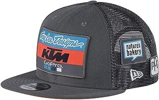 Troy Lee Designs Men's 2018 KTM Team Snapback Adjustable Hats