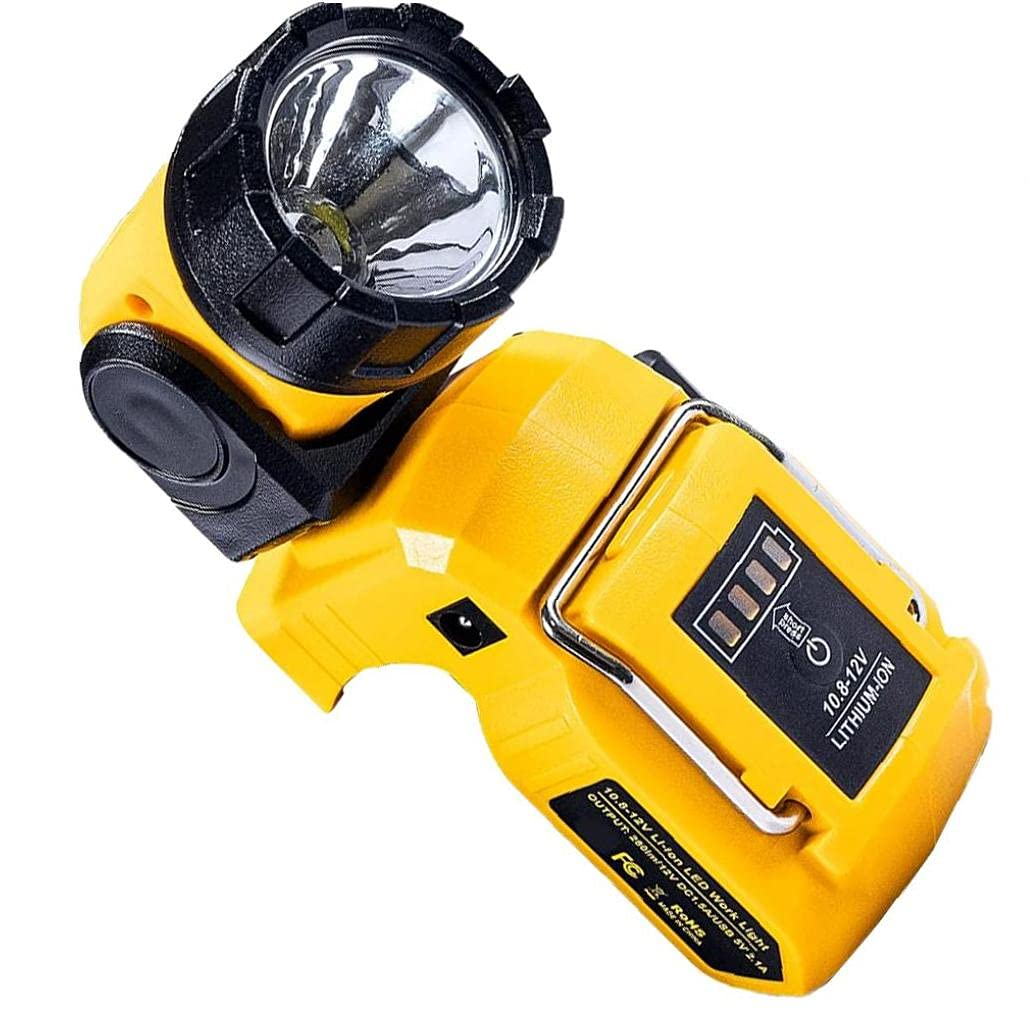 Linterna DCL510 10.8-12V antorcha giratoria recargable LED de la luz LED (sin batería), herramientas eléctricas