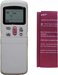 Generic Replacement Air Conditioner Remote Control for Midea Carrier Electrolux Blue Star Miller Beko JBS Fortress Jutercl...