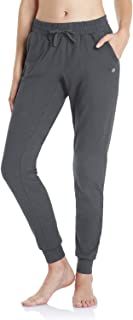 TSLA Women's Sweatpants with Pockets, Casual Comfy & Cozy Loungewear, Athletic Stretch Workout Yoga Pants
