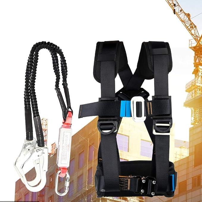 Kit de protección contra caídas, arnés de escalada de medio ...