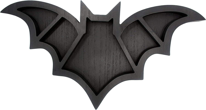 Halloween Bats Spooky Super sale Home Decor - Float Gothic Black Wooden Bat OFFicial mail order