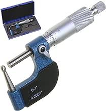 Anytime Tools Tube Micrometer Ball Spherical Anvil 0-1