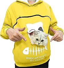 Reooly La Sudadera con Capucha Mujer con Capucha Animal Puede Llevar el Jersey Transpirable de Gato