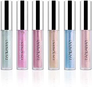 ALINICE 6 Colors Glitter Shimmer Liquid Lipstick Long Lasting Matte Lipstick Set