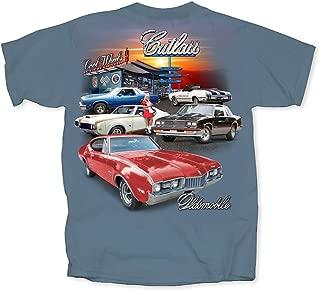 Men's Oldsmobile Cutlass Multi Car Diner T-Shirt