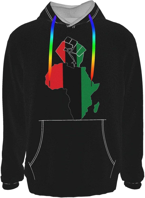 Black Fist Africa Men Women Casual wholesale Printed Sweatshirt 3d Hooded High quality