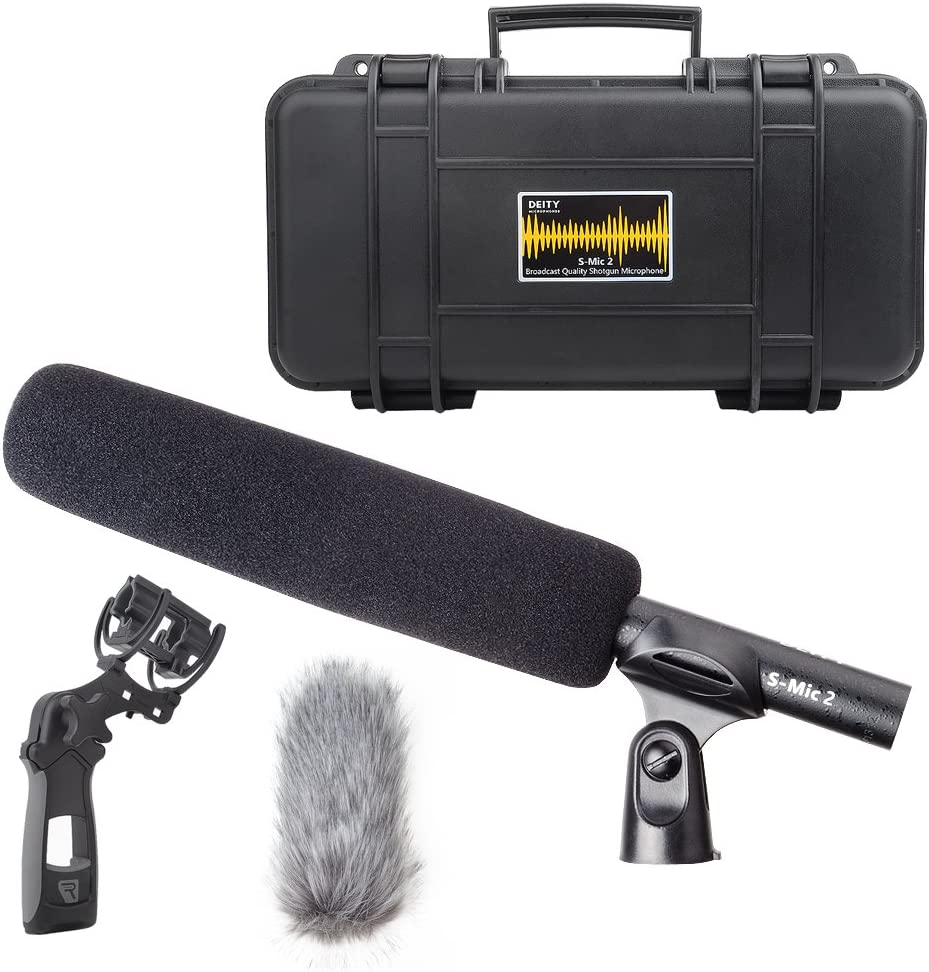 Deity S-Mic New product! New type mart 2 Location Microphone Condenser Shotgun Kit