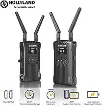 Hollyland-Mars-400-Inalámbrico-Sistema de Transmisión de Video HDMI Dual 400 Pies, Soporte el Monitoreo de Dispositivos iOS/Android, Pantalla OLED para Cámaras DSLR Videocámara Gimbal