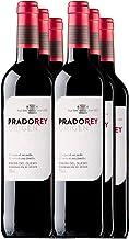 PRADOREY Roble Origen-Vino tinto - Roble- Ribera del Duero - 95% Tempranillo, 3% Cabernet sauvignon, 2% Merlot - Vino joven con ligero paso por barrica y tinaja - 6 Bot-0,75 L