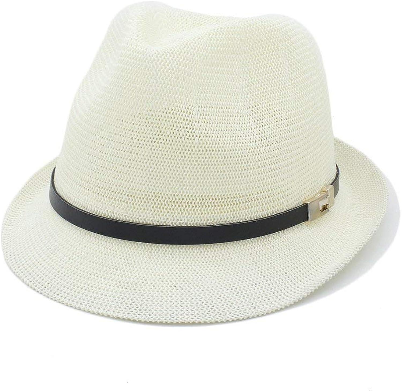 Fashion Warm Comfortable Hats for Women Summer Women Men Sun Hat for Gentleman Letter Dad Boater Fedora Hats Dad Flat Homburg Beach Hat Panama Cap