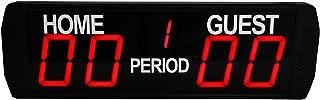 GAN XIN 5 Digits LED Electronic Scoreboard Indoor Use Basketball/Football Game Scoreboard
