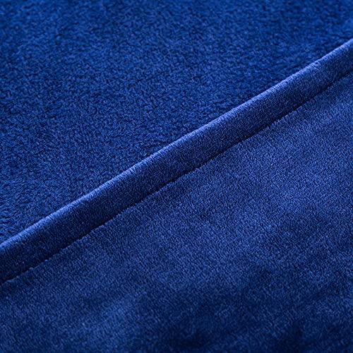 Hogar espesado calor sólido color franela manta oficina manta de la siesta manta de los niños manta sofá manta 130*175 cm