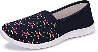 2ROW Women's Floral Black Loafers