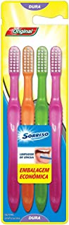 Escova Dental Sorriso Original 4unid