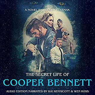 The Secret Life of Cooper Bennett audiobook cover art